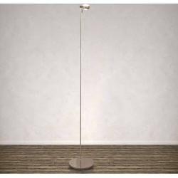 Top Light Puk Floor Maxi Einzelne Stehleuchte Chromlinse klar / mattes Glas Standardversion Top LightT   – Products