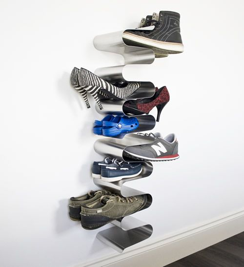 Attractive Nest Shoe Rack   Wall Mounted At Store. Uber Cool Take On The Traditional Shoe  Rack From The Designers At J ME. This Wall Mountedu2026