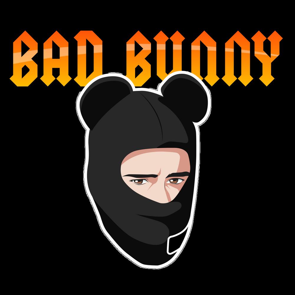 Bad Bunny Cuidao Por Ahi Art Print By Liomal X Small In 2020 Bunny Drawing Bunny Wallpaper Graffiti Lettering