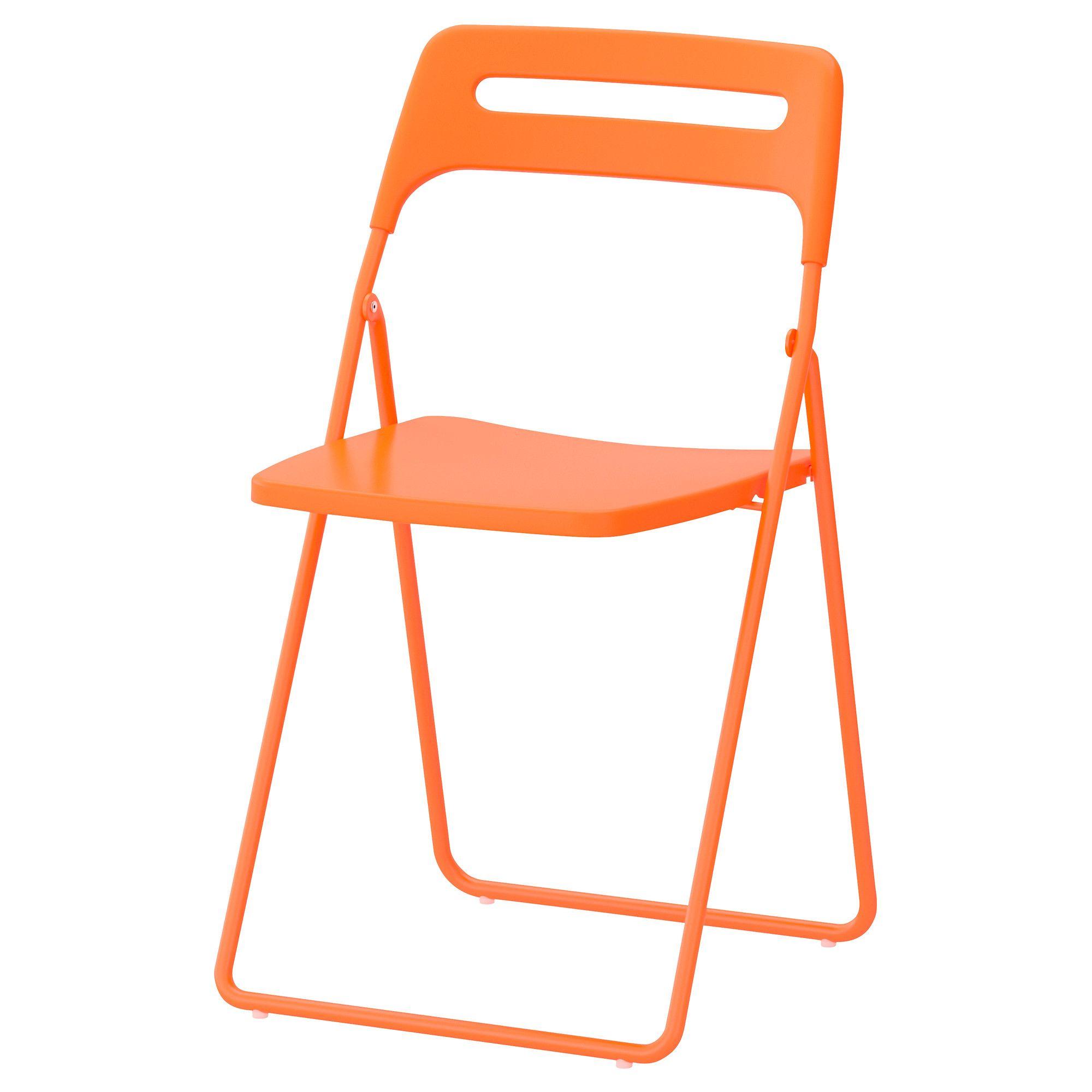 NISSE Folding Chair, Orange