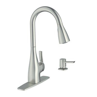 Moen Kitchen Faucet 87599srs Kiran Stainless Steel One
