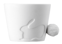 Porzellan Tasse Mugtail Hase Rabbit - Artikeldetailansicht - Town & Country Home Online Shop