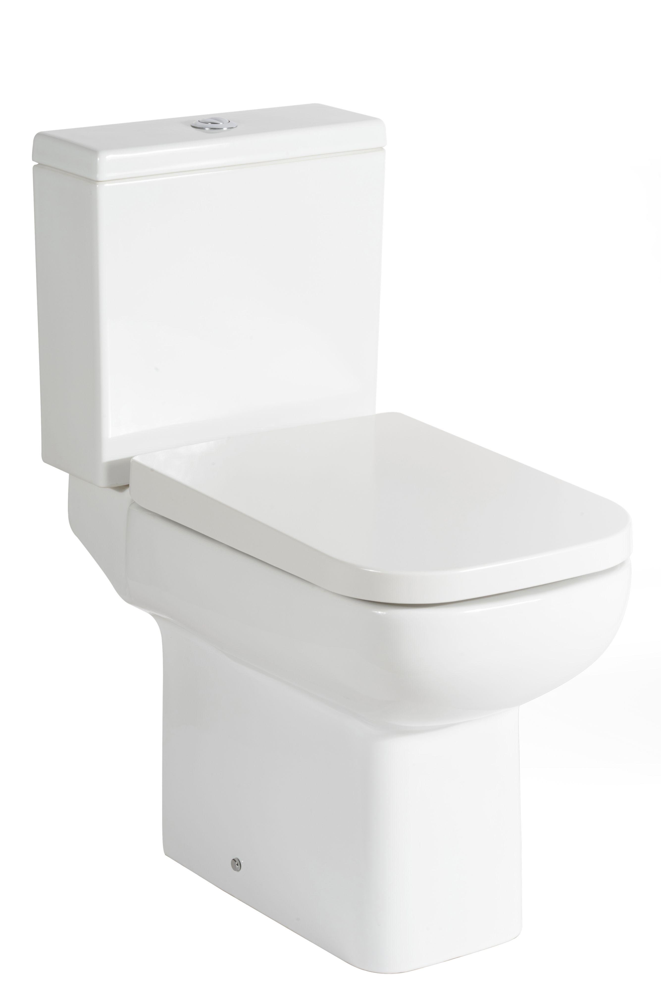 Terrific Cooke Lewis Fabienne Close Coupled Toilet With Soft Close Machost Co Dining Chair Design Ideas Machostcouk