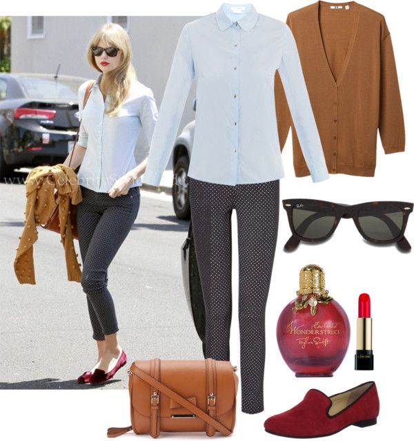 """""""Taylor Swift inspired classic fall outfit"""" by natihasi on Polyvore"""