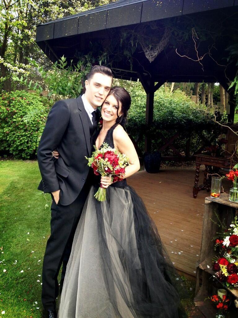 Mr. & Mrs. Beech! Vera wang wedding dress amazing | fashion icon ...