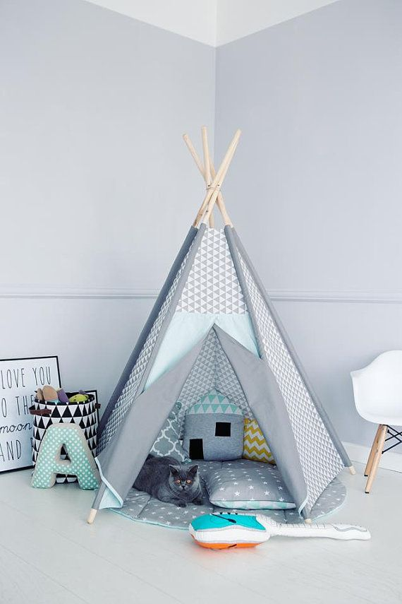 tipi tipi wigwam zelt kinder tipi zelte zelt playtent von renomad kinderzimmer pinterest. Black Bedroom Furniture Sets. Home Design Ideas
