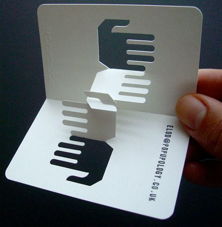 3D Business Cards | PrintBench - good for a massage therapist!