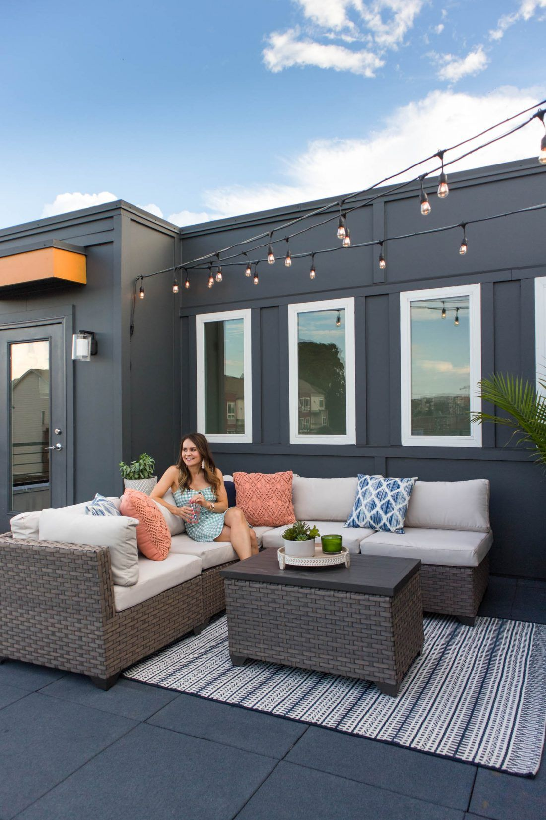 Outdoor Decor Rooftop Terrace Updates Terrace Decor Rooftop