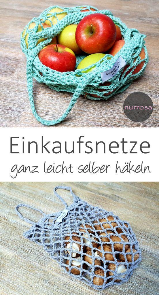 Photo of Kaufnetze selber häkeln DIY Anleitung Ein weiterer Schritt in …