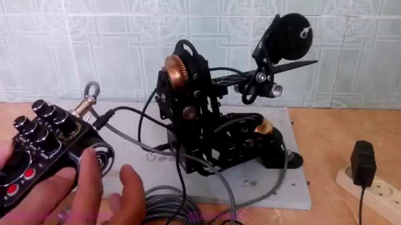 Tutorial Arduino DSLR Pan Tilt Head Controller DIY