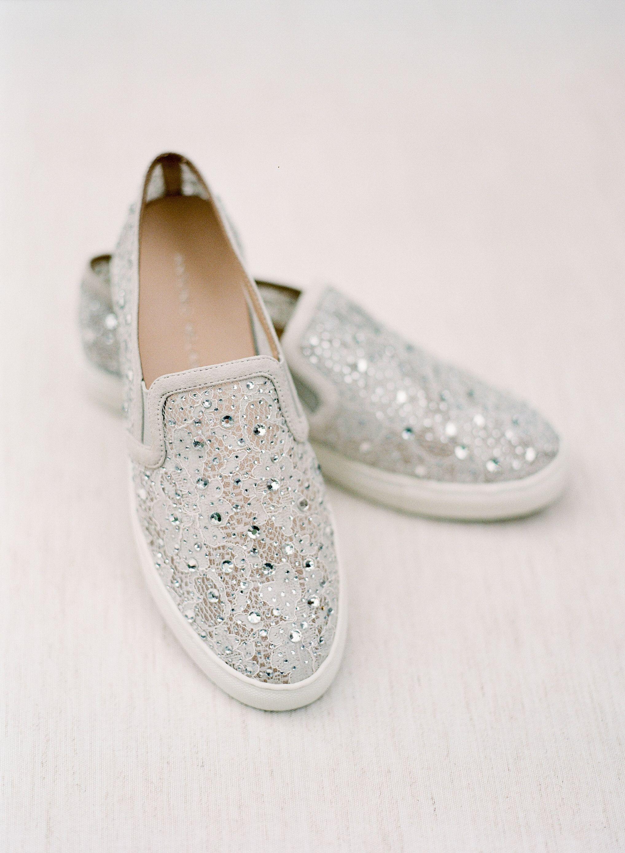 fc40a9e7d28 Fun wedding shoes - wedding sneakers - wedding slip-ons - Ashley Upchurch  Photography