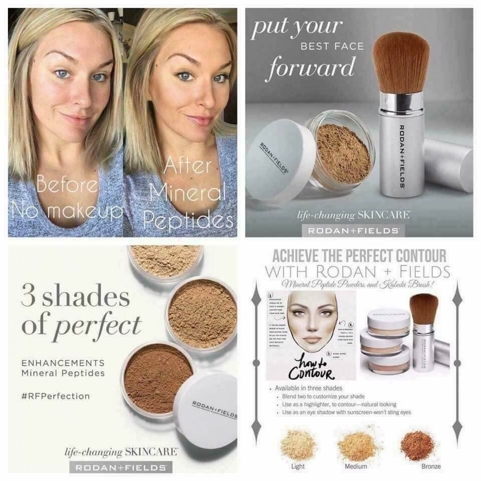 Makeup made easy yes please! Our Mineral Peptides make