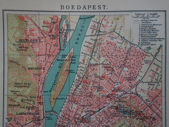 Budapest map 1915 old antique city plan about budapest hungary budapest map 1915 old antique city plan about budapest hungary vintage maps plattegrond publicscrutiny Image collections