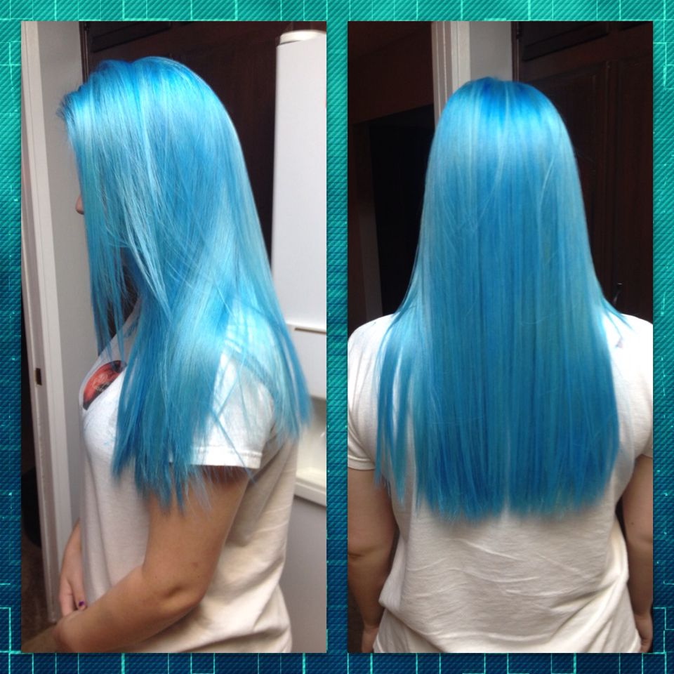 ion color brilliance brights semi permanent hair dye in the color azure