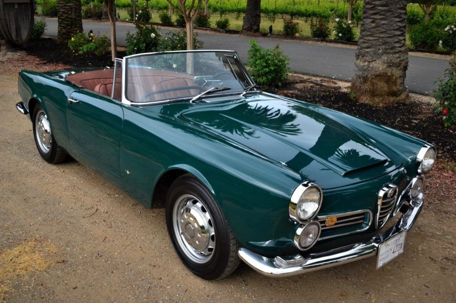 BaT Auction: 1963 Alfa Romeo 2600 Spider