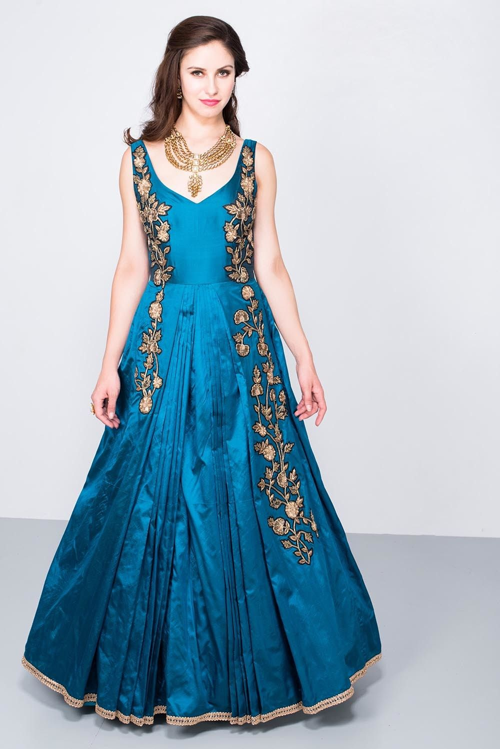On Demand Wardrobe | Floral motif, Ball gowns and Gowns