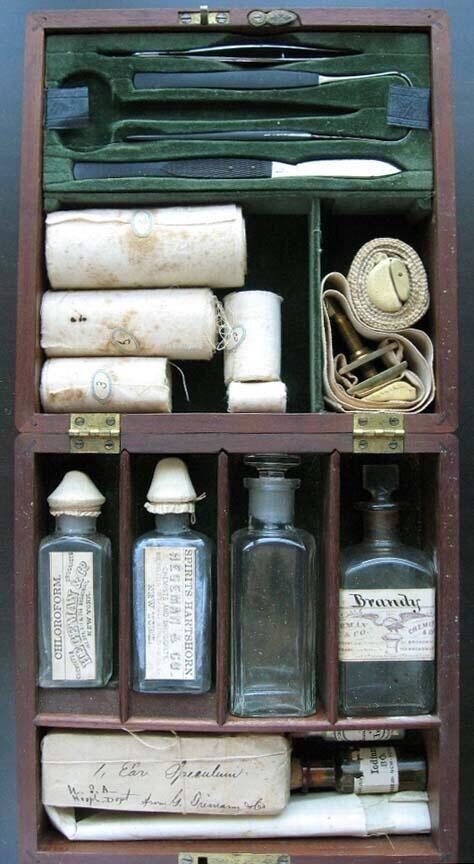 American Civil War's surgeon kit, 1864