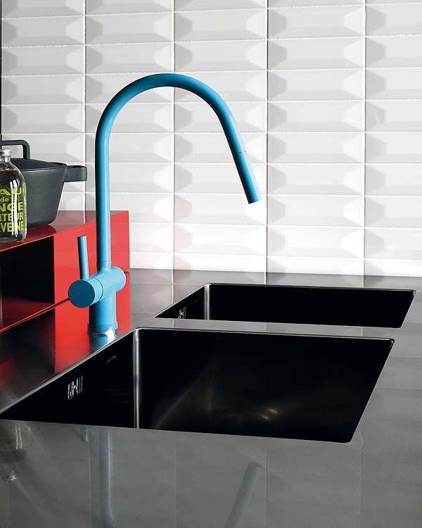 Colourful Kitchen Accessories Blue Tea Kitchens Kitchen Faucet