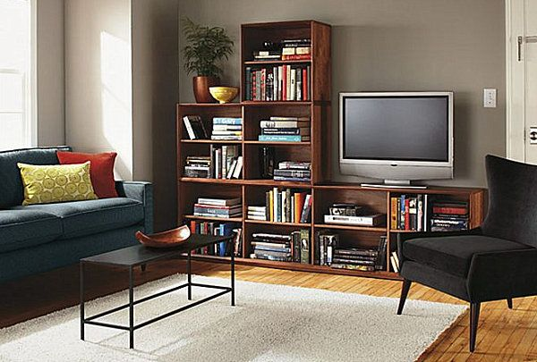 How To Decorate A Living Room Bookshelves In Living Room Living Room Bookcase Bookcase Tv Stand Tv stand with matching bookcases