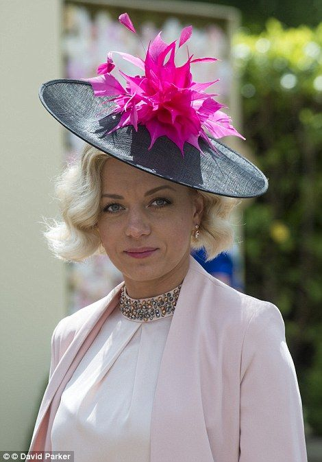 The  hatinator  a cross between a hat and a fascinator is the latest  millinery trend. c938c4e7573