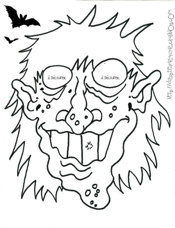 masque sorcier | halloween | pinterest | sorcières, masque et