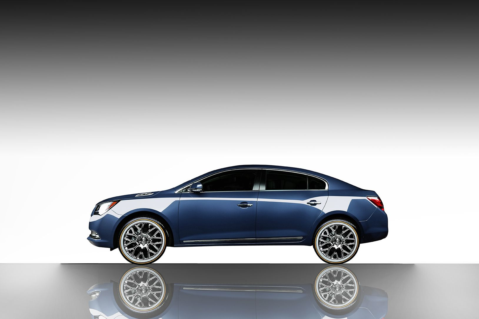 The Buick Lacrosse With Vogue S White Gold Sidewall Tyres Buick Lacrosse Buick Lacrosse