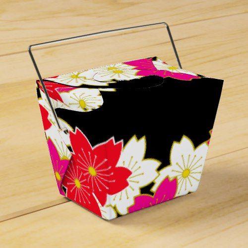 Japanese Kimono pattern Gift bag SAKURA Favor Box