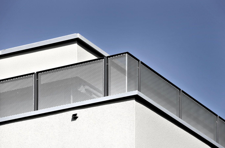 Bassersdorf 1 Gelander Balkon Balkon Treppe