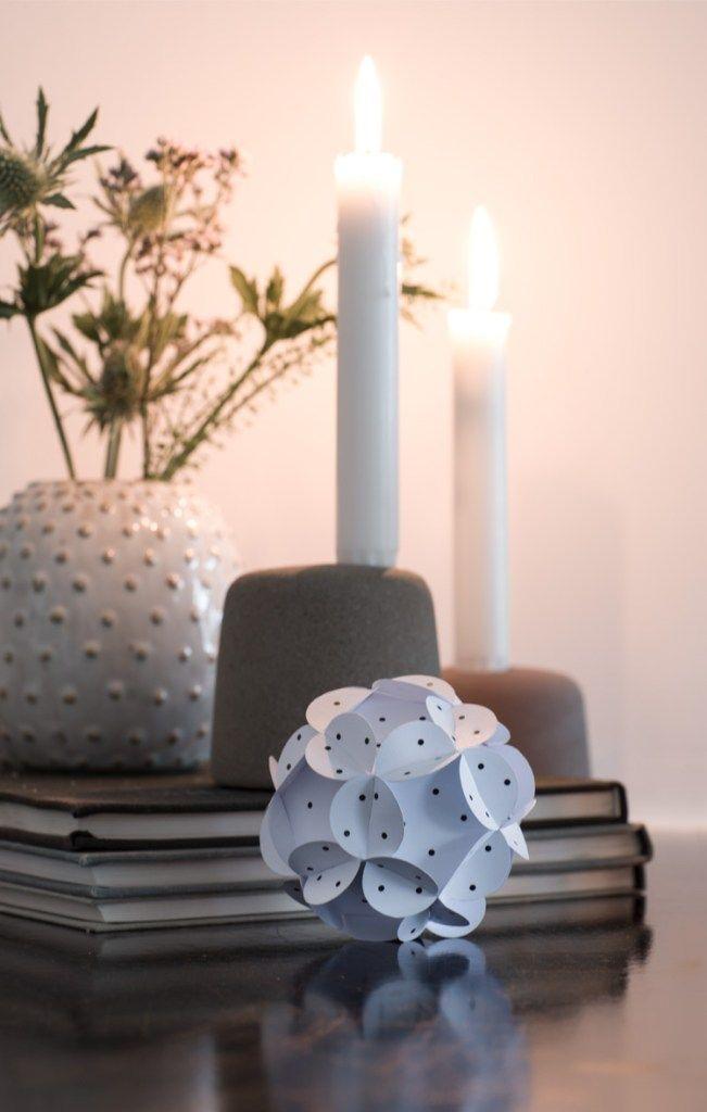 DIY – Sculpture en papier décorative et simple à réaliser