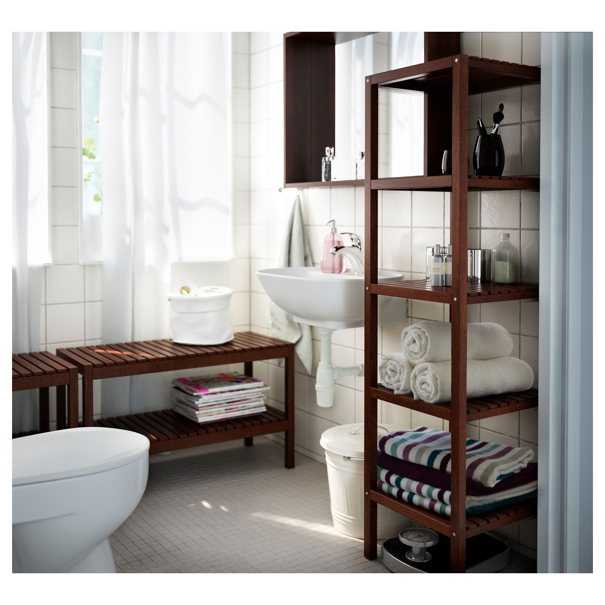 Find This Pin And More On Bathroom By Marythithi. IKEA   MOLGER, Shelving  ...