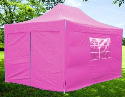 10x15 Easy Pop Up Pink Party Tent Canopy Gazebo & For booth? 10x15 Easy Pop Up Pink Party Tent Canopy Gazebo ...