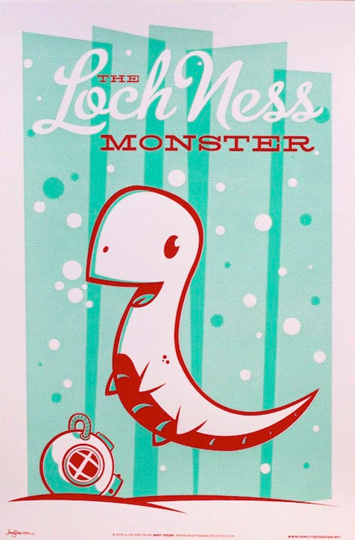 lochness monster little monster baby shower decor