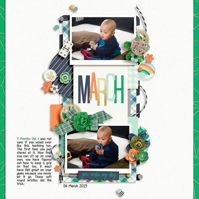 Layout created with {Lucky Charm} Digital Scrapbook Kit by Dream Big Designs available at Sweet Shoppe Designs http://www.sweetshoppedesigns.com/sweetshoppe/product.php?productid=33497&cat=808&page=1 #dreambigdesigns