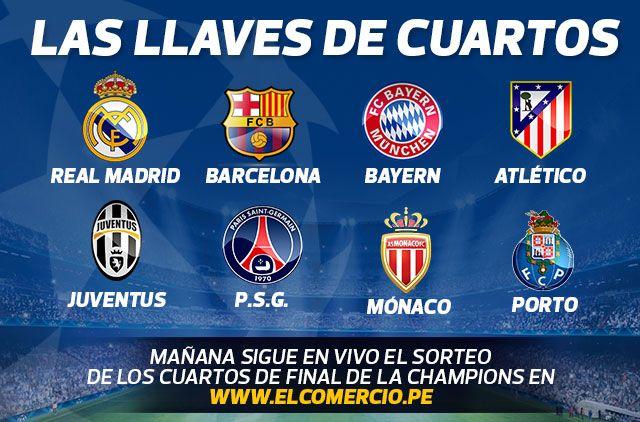 Finalistas Champions. March 19, 2015.   Champions League   Champions ...
