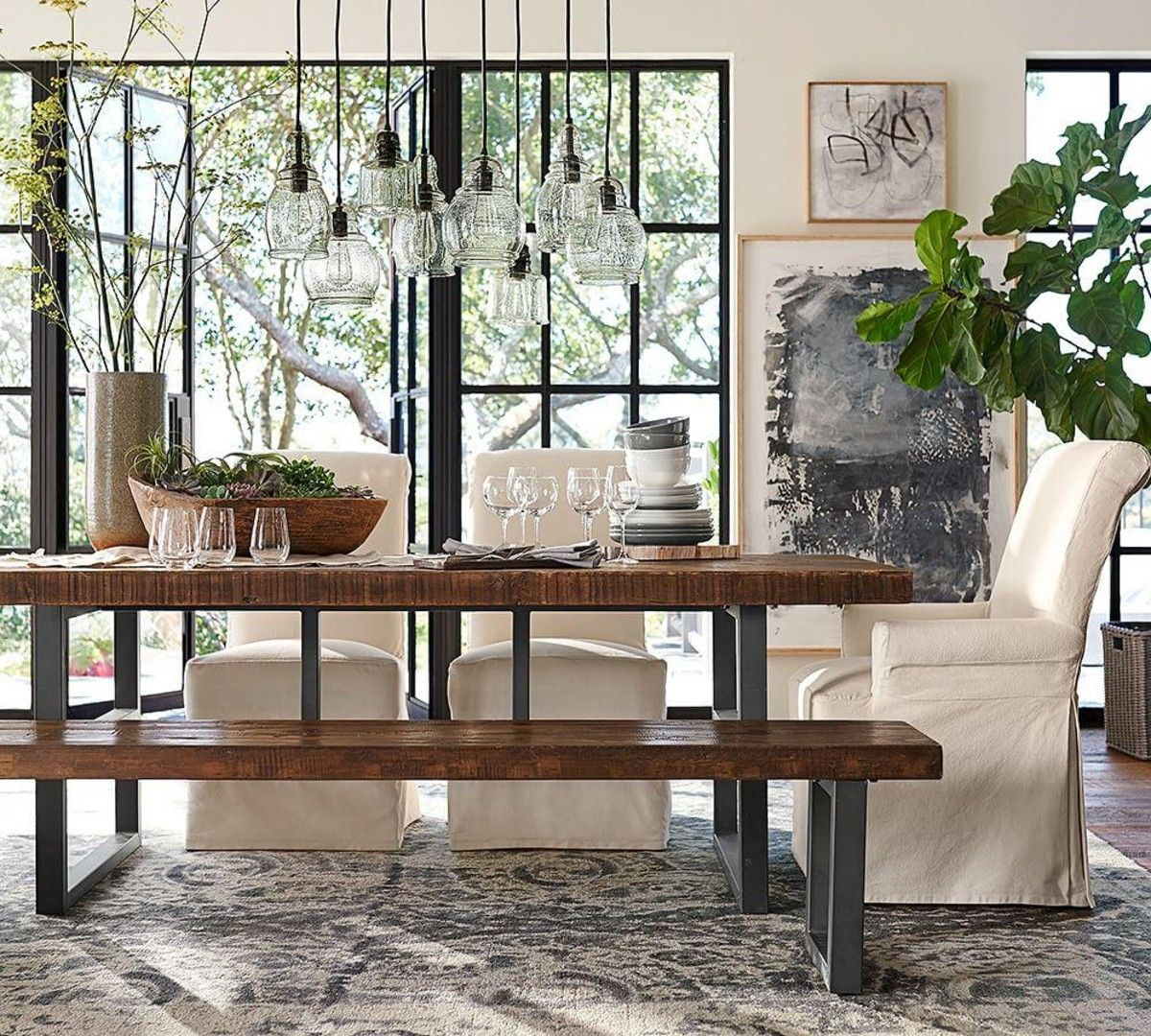 Elegant rustic pottery barn kitchen table tables amp chairs pottery barn and