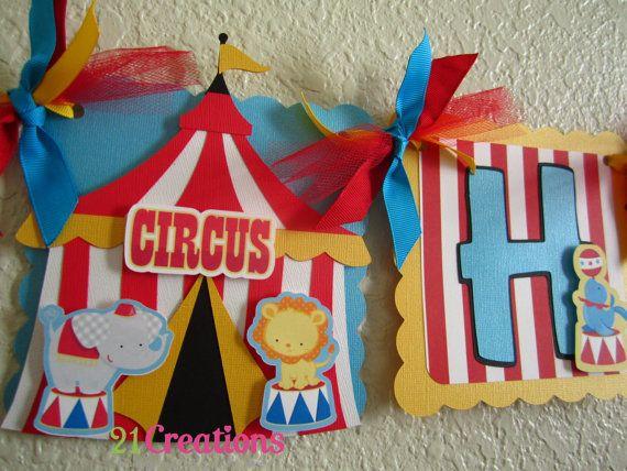 Carnival Birthday BANNER