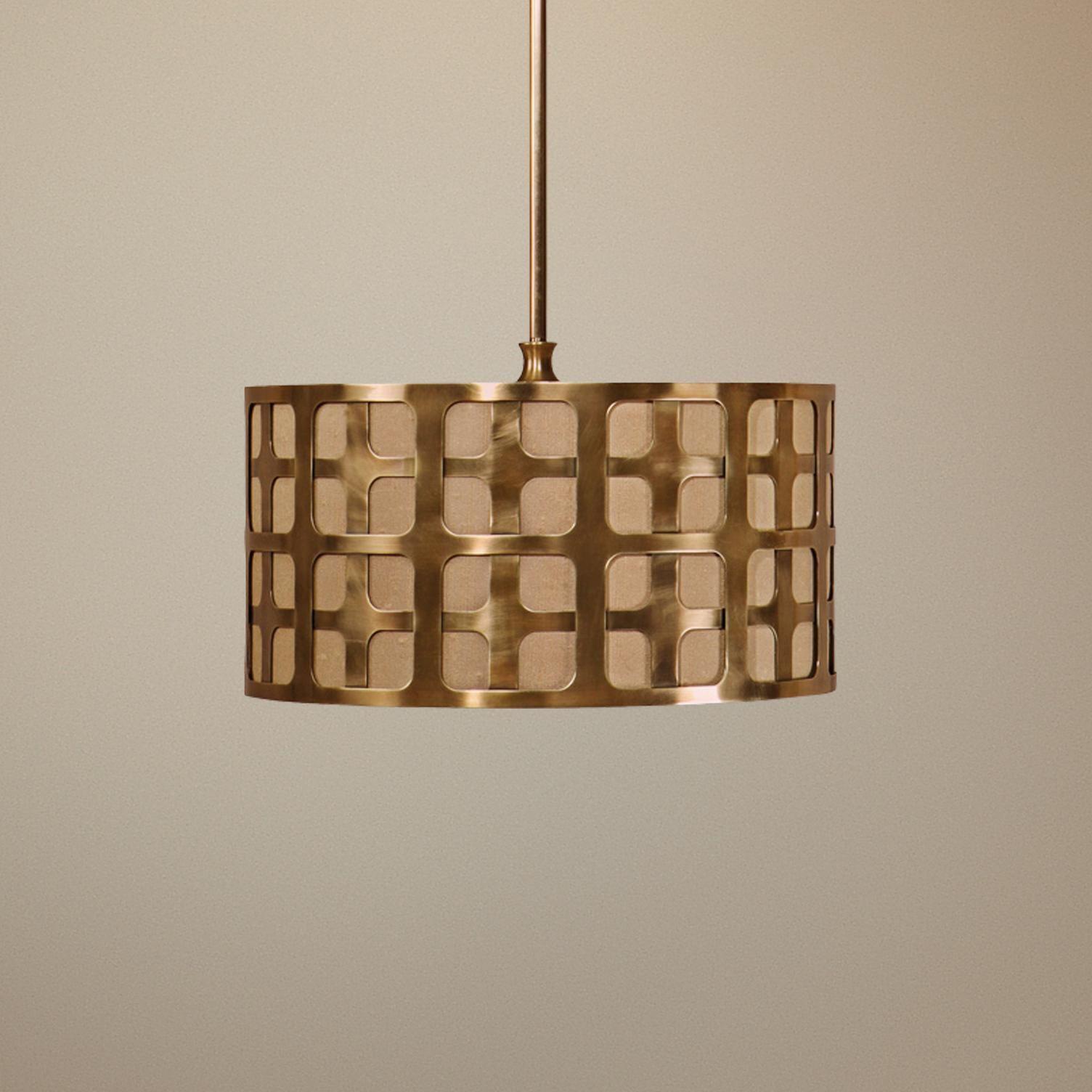 Uttermost Manhattan 3-Light Pendant Chandelier - | History Room ...