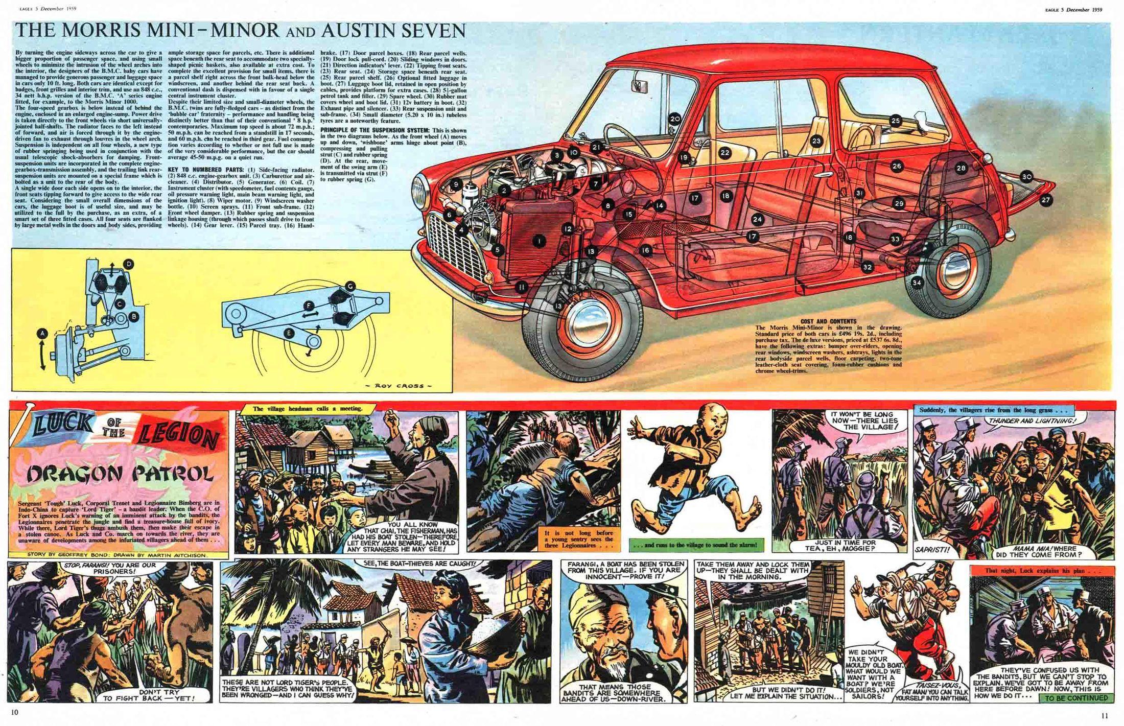 Eagle Comic Cutaways 1959 - А где-то идут космические войны
