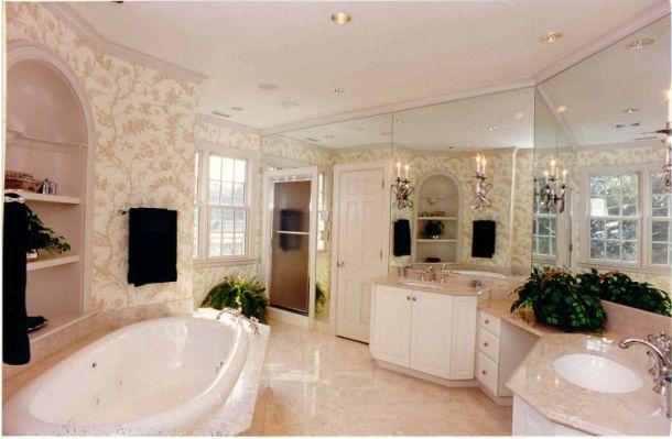 Extraordinary Master Bathrooms Graphicdesignsco Regarding Beautiful F