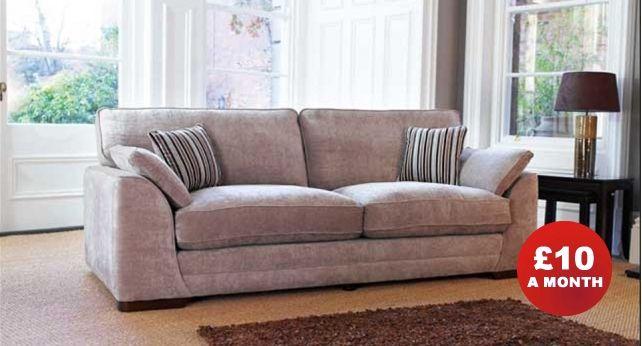 Merveilleux £599 Scs Portland 3 Seater Sofa Standard Back Width 213cm