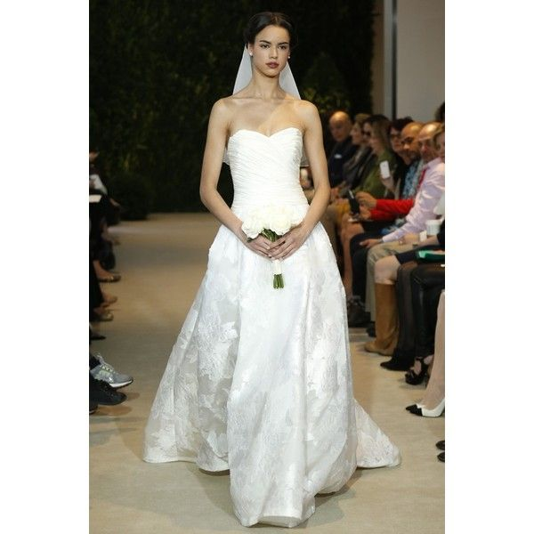 Tricia Nixon Wedding Gown: Carolina Herrera Bridal Spring 2014 Slideshow Liked On