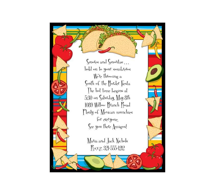 taco party invitation sheets taco party in 2018 pinterest taco