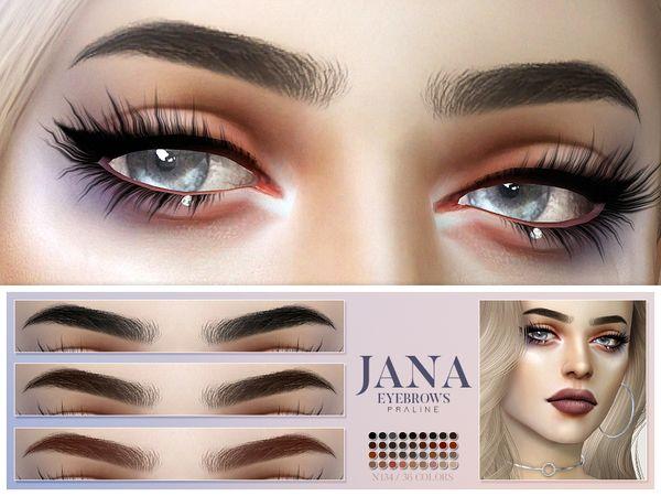 Photo of Jana Eyebrows N134 – Die Sims 4 Download – SimsDomination