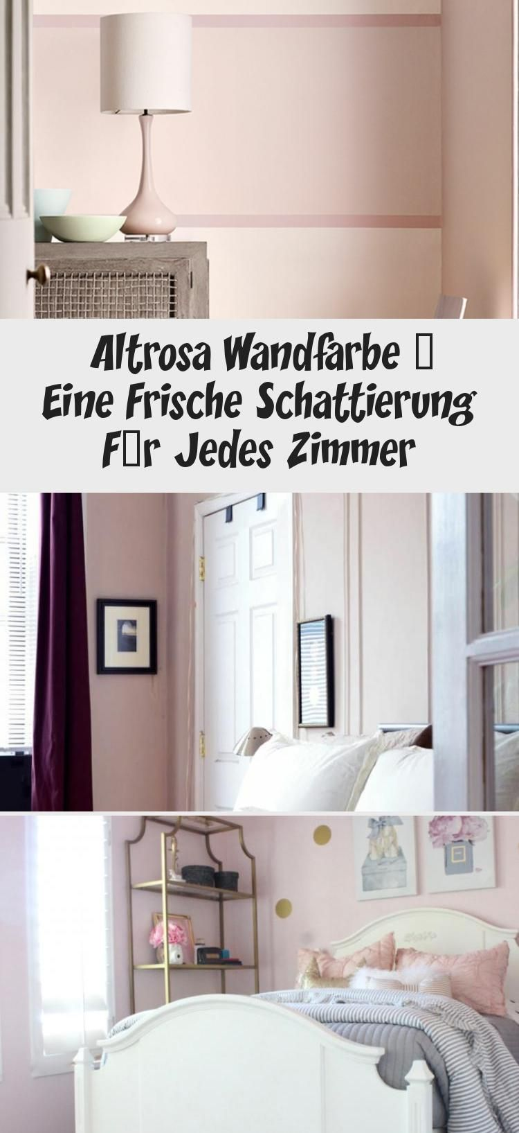 Altrosa Wandfarbe Eine Frische Schattierung Fur Jedes Zimmer In 2020 With Images Home Decor Decor Home