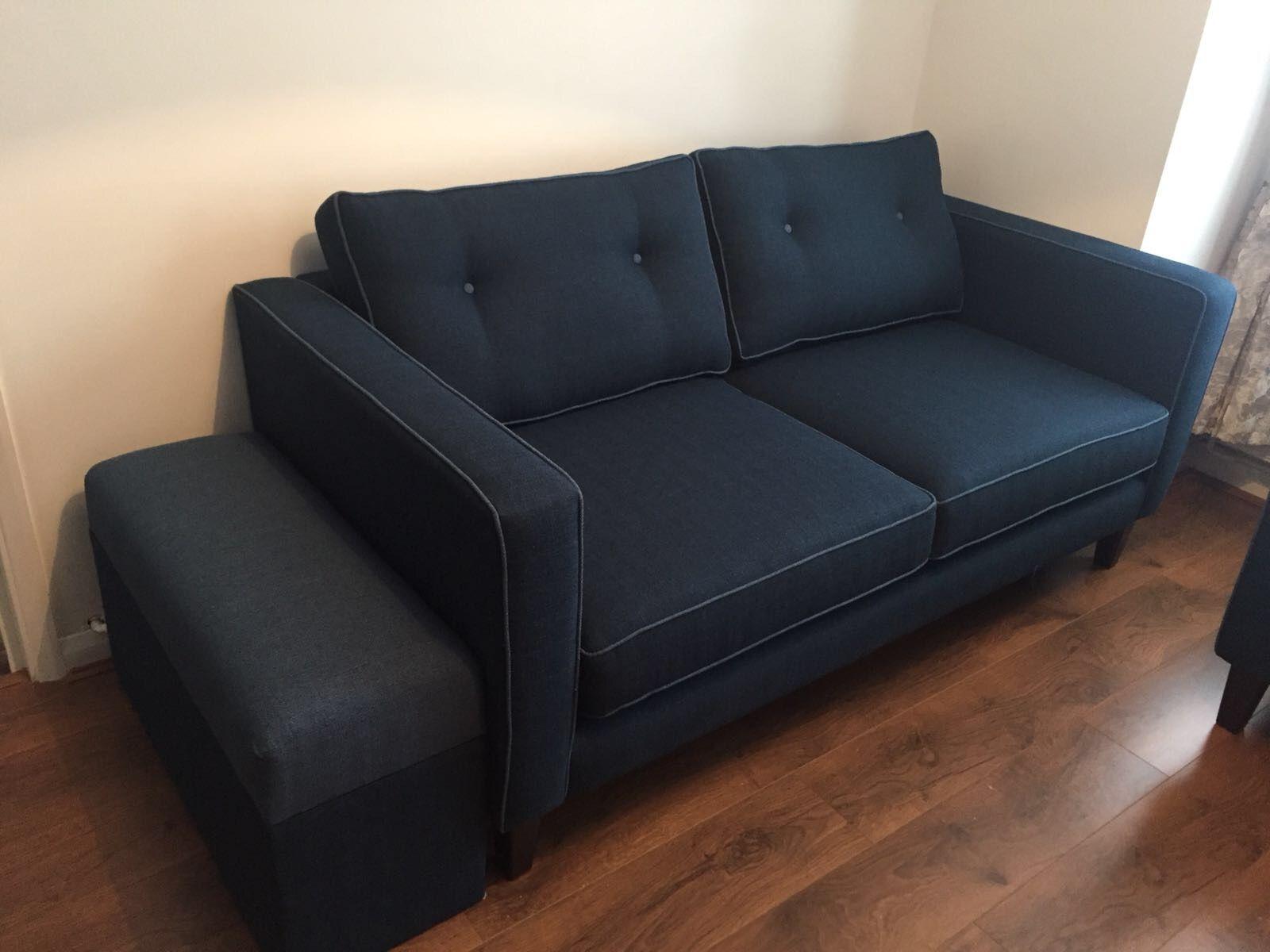Bon Retro Sofa Made To Measure   175 Cm X 91 Cm. 2 Base Cushions In
