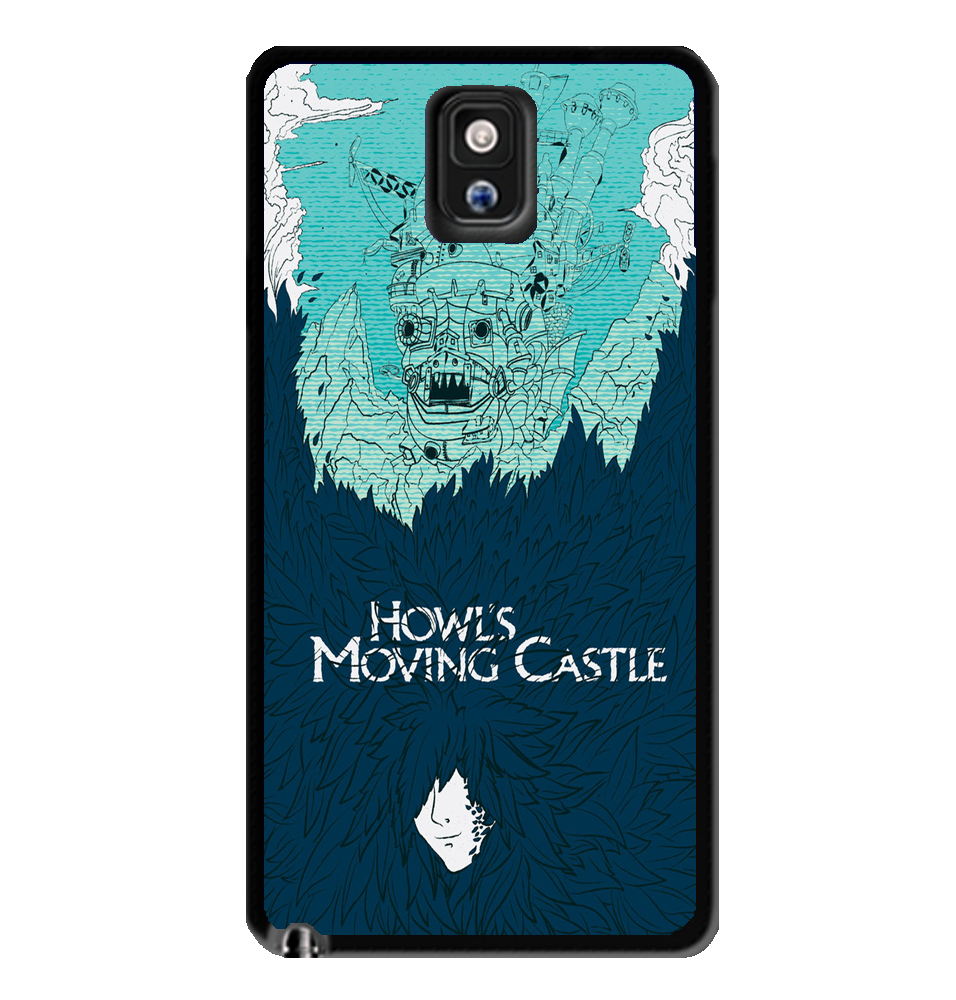 Howl's Moving Castle 2 Samsung Galaxy S3 S4 S5 Note 3 Case