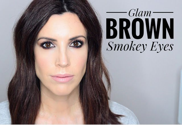 Aparichi Makeup: Blog de Maquillaje y Belleza - Maquilladora Profesional Madrid: GLAM BROWN SMOKEY EYES