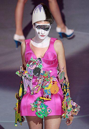 Jamaica Byles Designer Manish Arora Psychedelic Fashion Weird Fashion Manish Arora