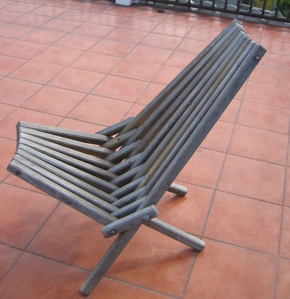 Instant Furniture Folding chair, Woodworking square