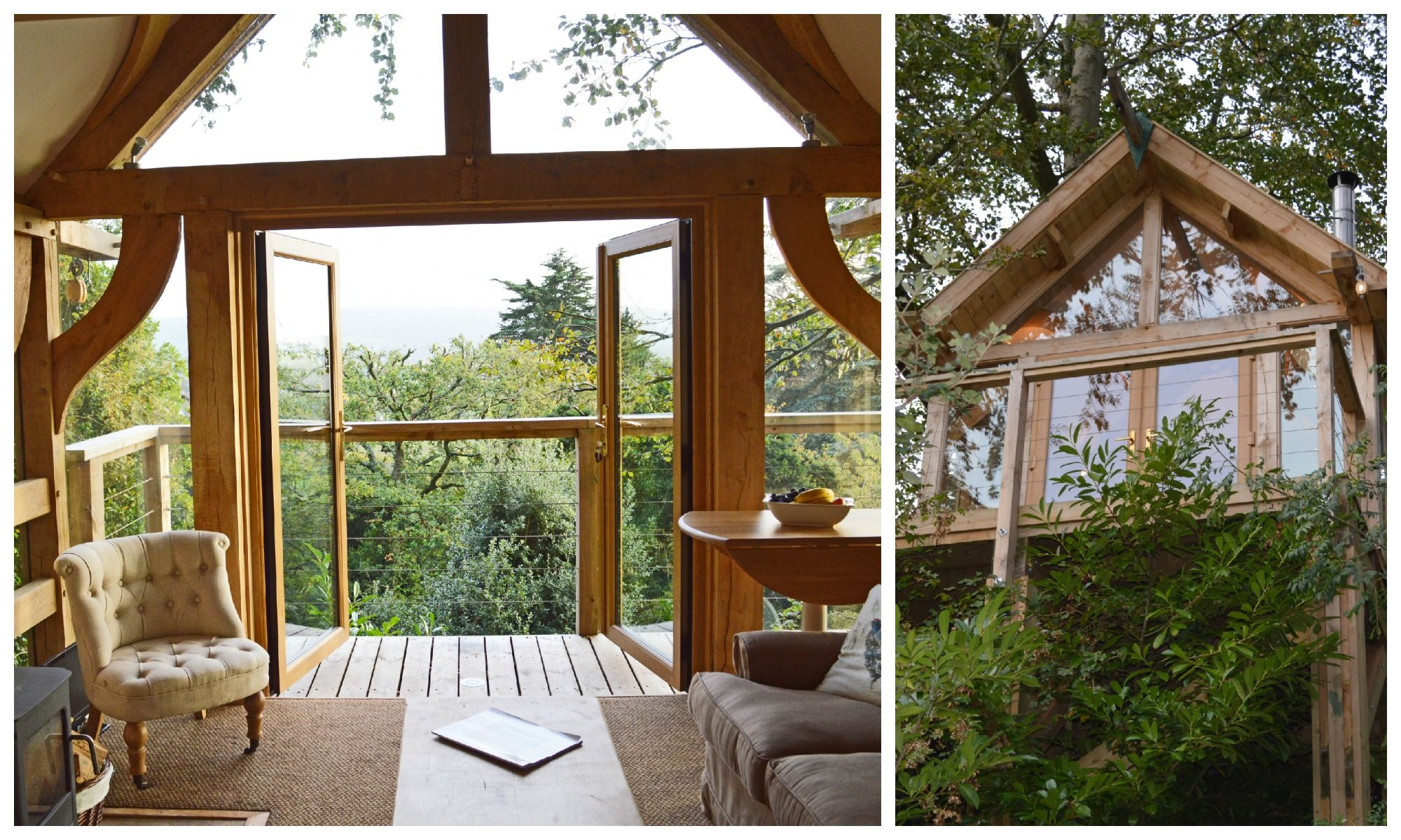 uplands treehouse near bristol a beautifully crafted